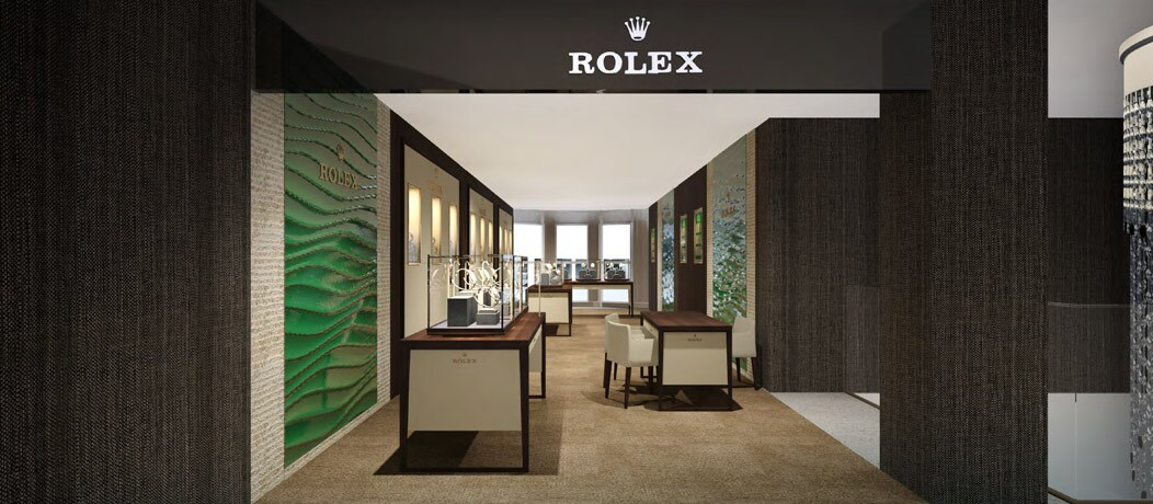 Rolex in Knightsbridge