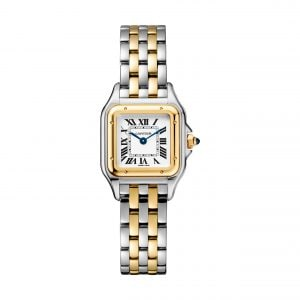 22mm Yellow Gold Cartier Panthere Ladies Watch | Watches of Switzerland