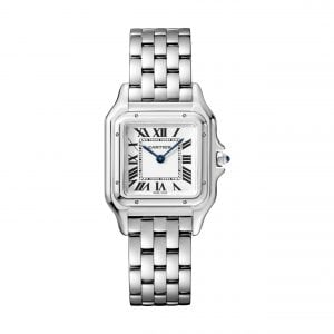 27mm Steel Cartier Panthere Ladies Watch | Watches of Switzerland