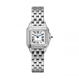 22mm Steel Cartier Panthere Ladies Watch | Watches of Switzerland