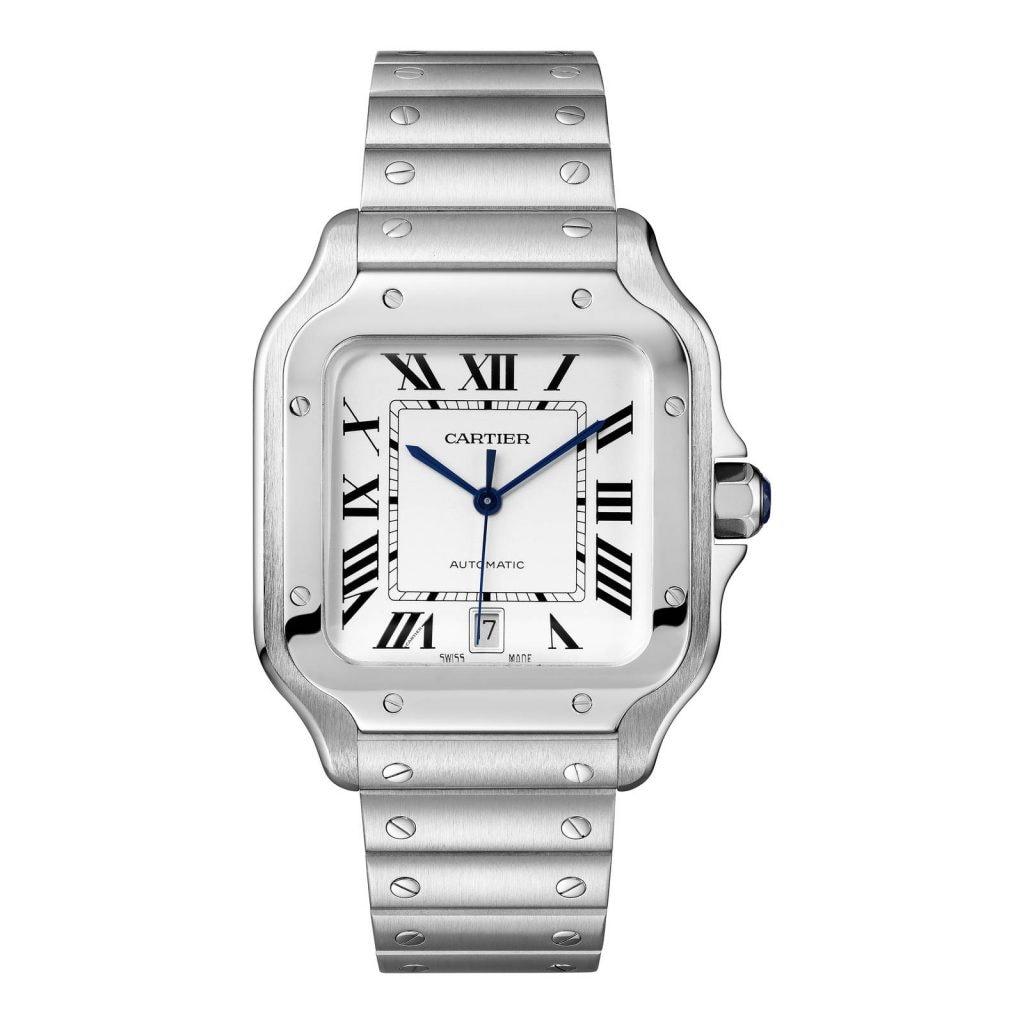 The Cartier Santos De Cartier Watch £5,350.00 ($6,250.00)
